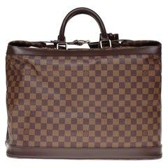 Rare Louis Vuitton Steamer travel bag in brown canvas