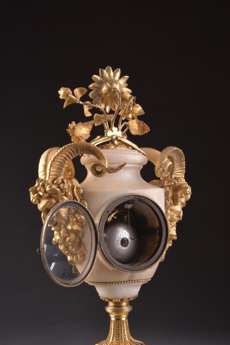 Rare Louis XVI Mantel Clock