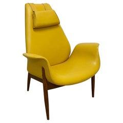 Rare Lounge Chair by Arthur Umanoff