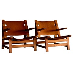 Rare Lounge Chair by Borge Mogensen