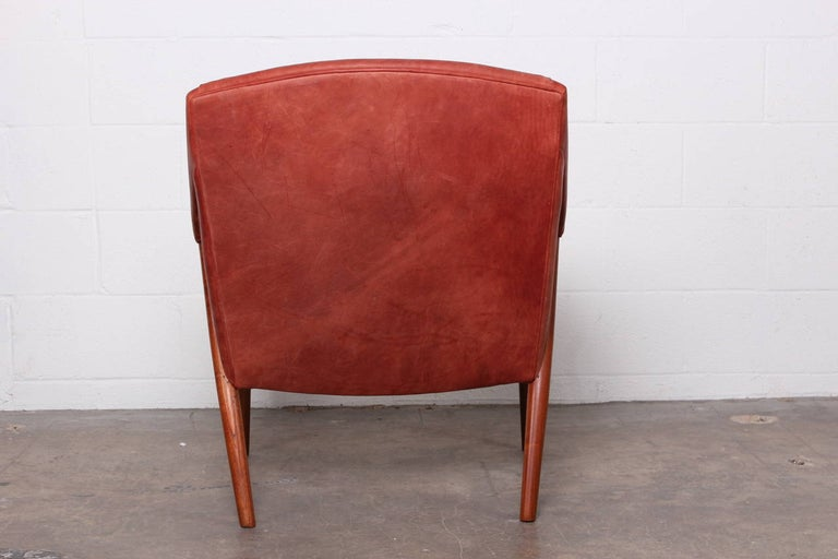 Rare Lounge Chair by Ib Kofod-Larsen For Sale 3