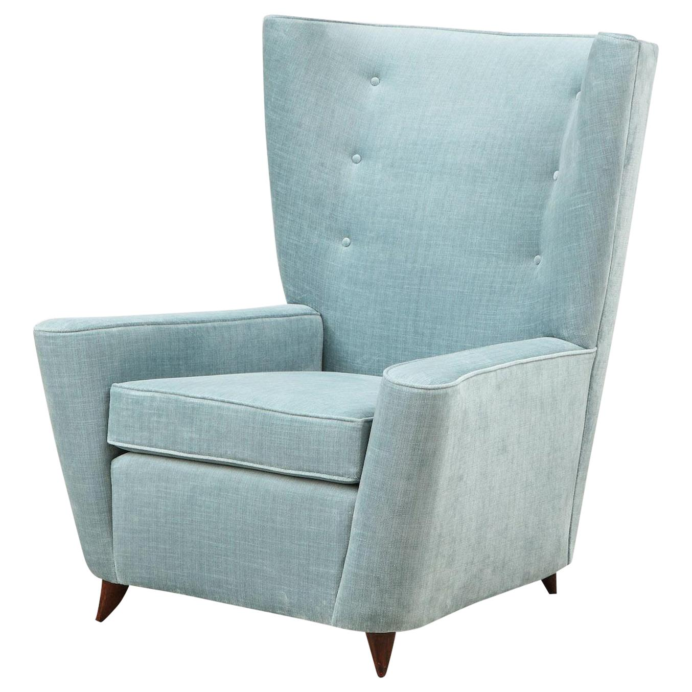 Rare Lounge Chair by Paolo Buffa