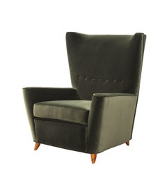 Rare Lounge Chair by Paolo Buffa