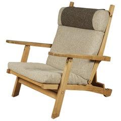 Rare Lounge Chair Designed by Hans Wegner, Model AP71, Denmark, 1968