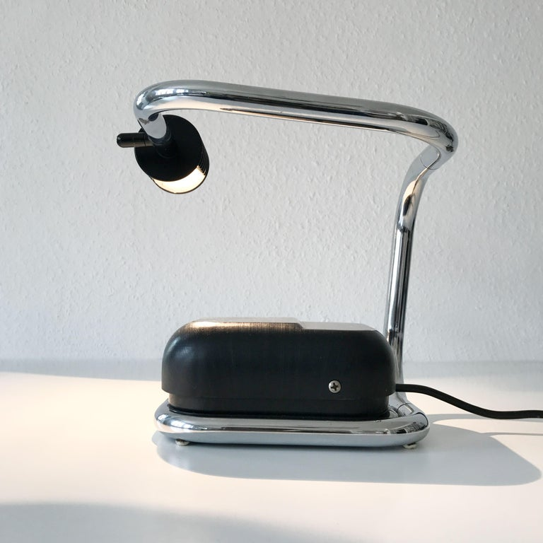 Rare Lucciola Table Lamp by Fabio Lenci for Harvey Guzzini, 1970s, Italy For Sale 3
