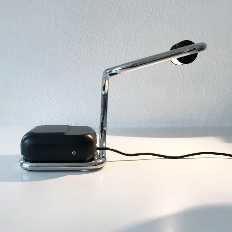 Italian Rare Lucciola Table Lamp by Fabio Lenci for Harvey Guzzini, 1970s, Italy For Sale