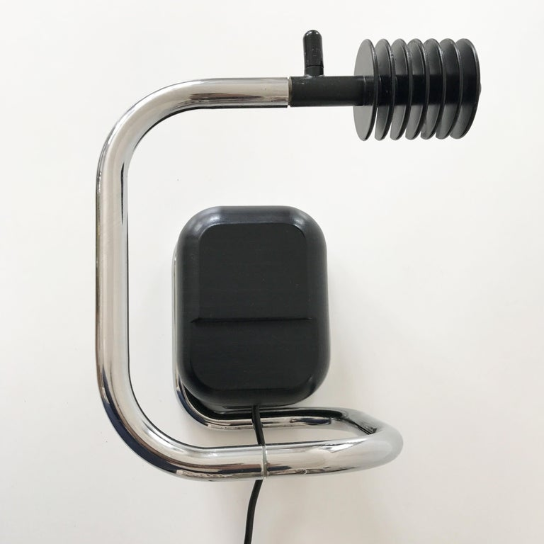 Rare Lucciola Table Lamp by Fabio Lenci for Harvey Guzzini, 1970s, Italy In Good Condition For Sale In Munich, DE
