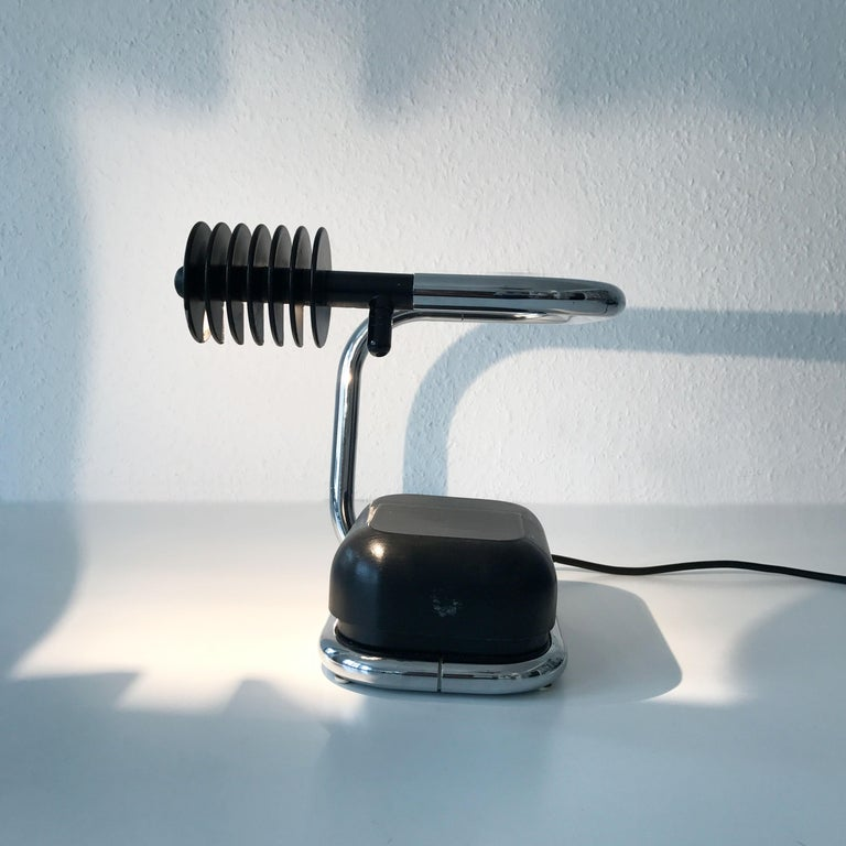 Rare Lucciola Table Lamp by Fabio Lenci for Harvey Guzzini, 1970s, Italy For Sale 2