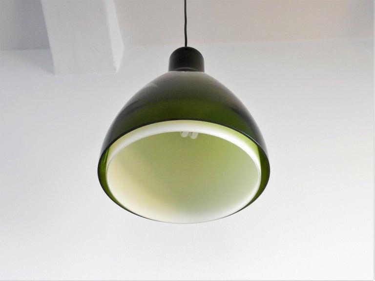 Mid-Century Modern Rare 'Lugano' Pendant Lamp for Fog & Mørup, Denmark, 1960s For Sale