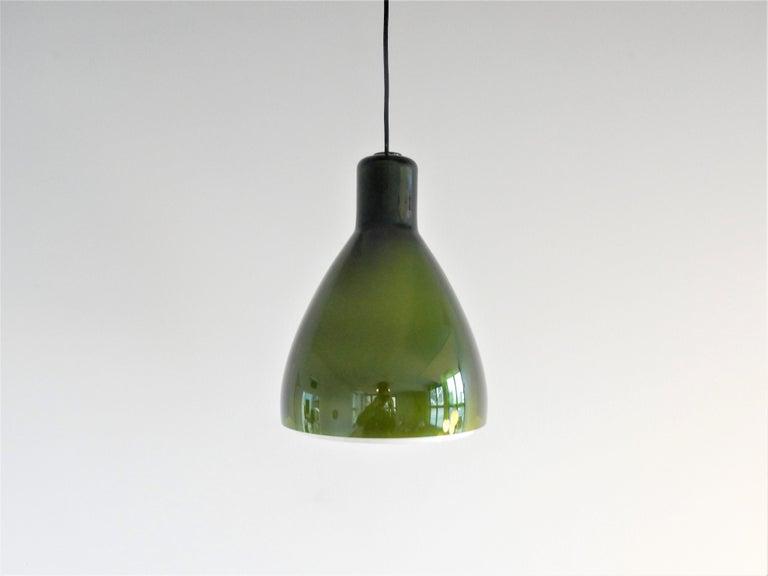 Mid-20th Century Rare 'Lugano' Pendant Lamp for Fog & Mørup, Denmark, 1960s For Sale