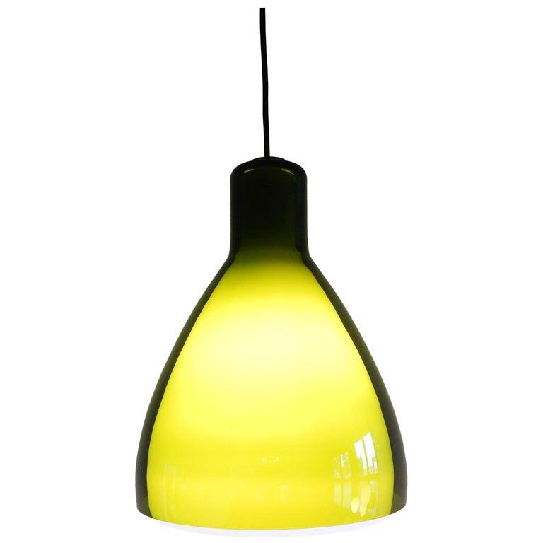 Rare 'Lugano' Pendant Lamp for Fog & Mørup, Denmark, 1960s For Sale