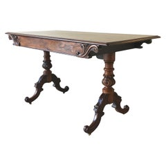 Rare Mack Williams and Gibton Mahogany Side Table, circa 1835