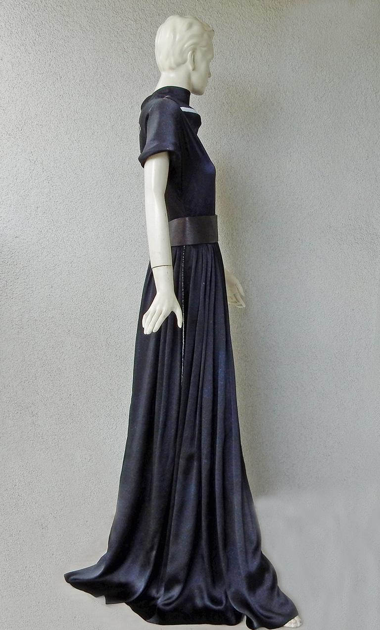 Women's  Rare Maison Margiela Celestial Solar Eclipse Dress Gown NWT!  For Sale