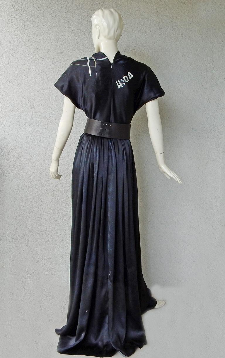 Rare Maison Margiela Celestial Solar Eclipse Dress Gown NWT!  For Sale 1