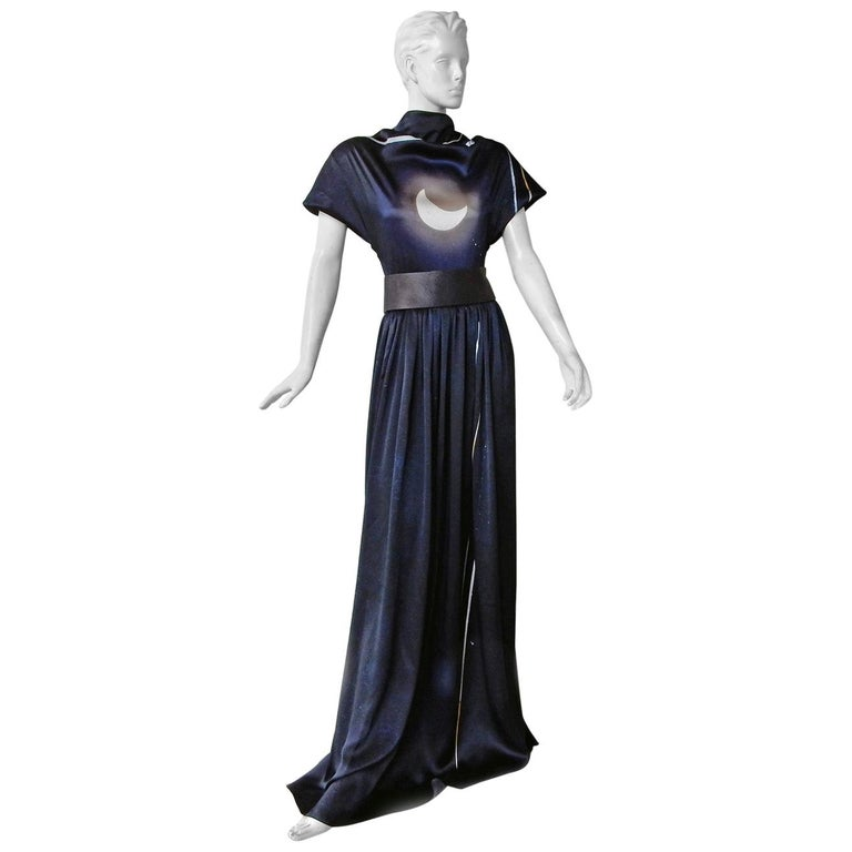 Rare Maison Margiela Celestial Solar Eclipse Dress Gown NWT!  For Sale
