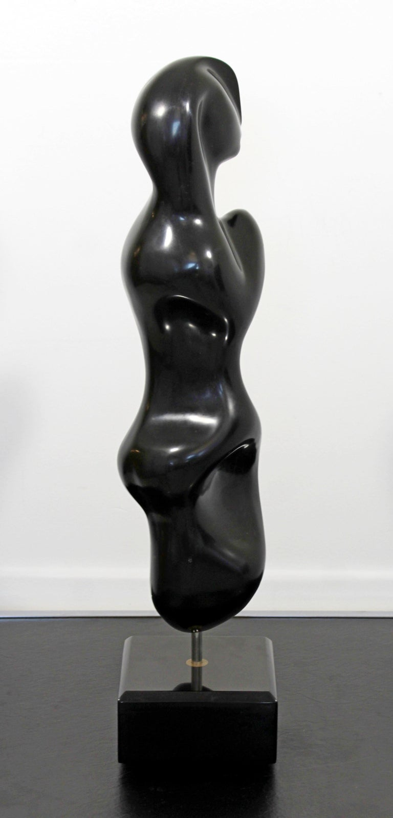 Rare Marble Table Sculpture Signed Anthony Quinn Called Tatiana For Sale 3