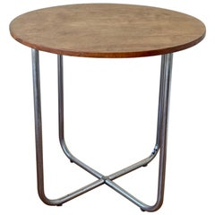 Rare Marcel Breuer Small Dining Cocktail Table Model B27