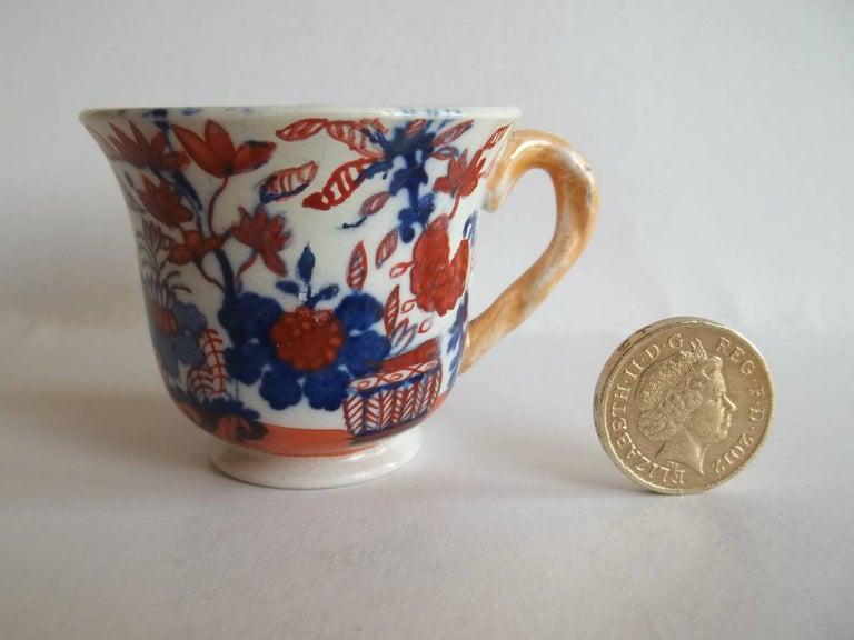 Rare Mason's Ironstone Miniature Cup Japan Basket Pattern, circa 1825 For Sale 1