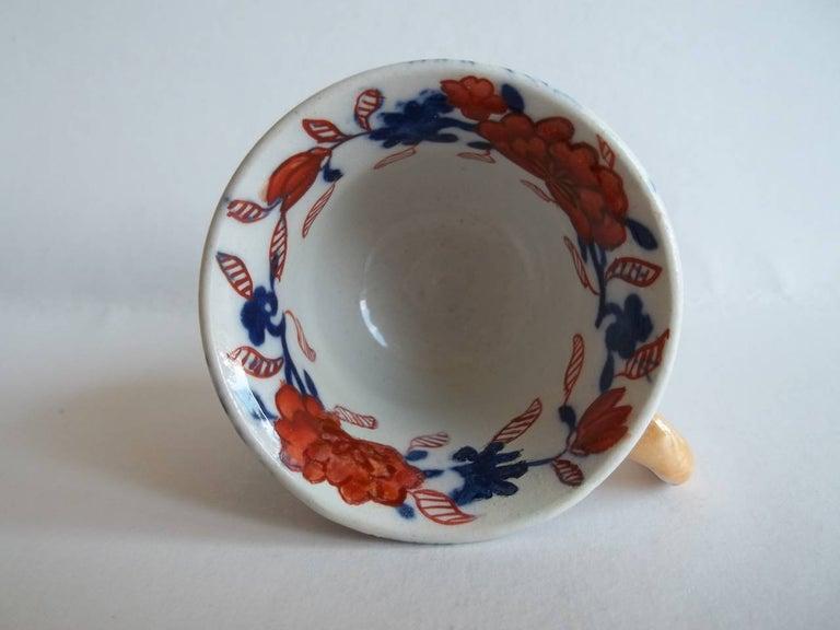 Rare Mason's Ironstone Miniature Cup Japan Basket Pattern, circa 1825 For Sale 2