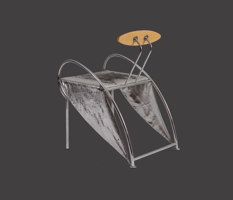 Hand-Crafted Rare Massimo Iosa Ghini 1987 Italian Design Chair