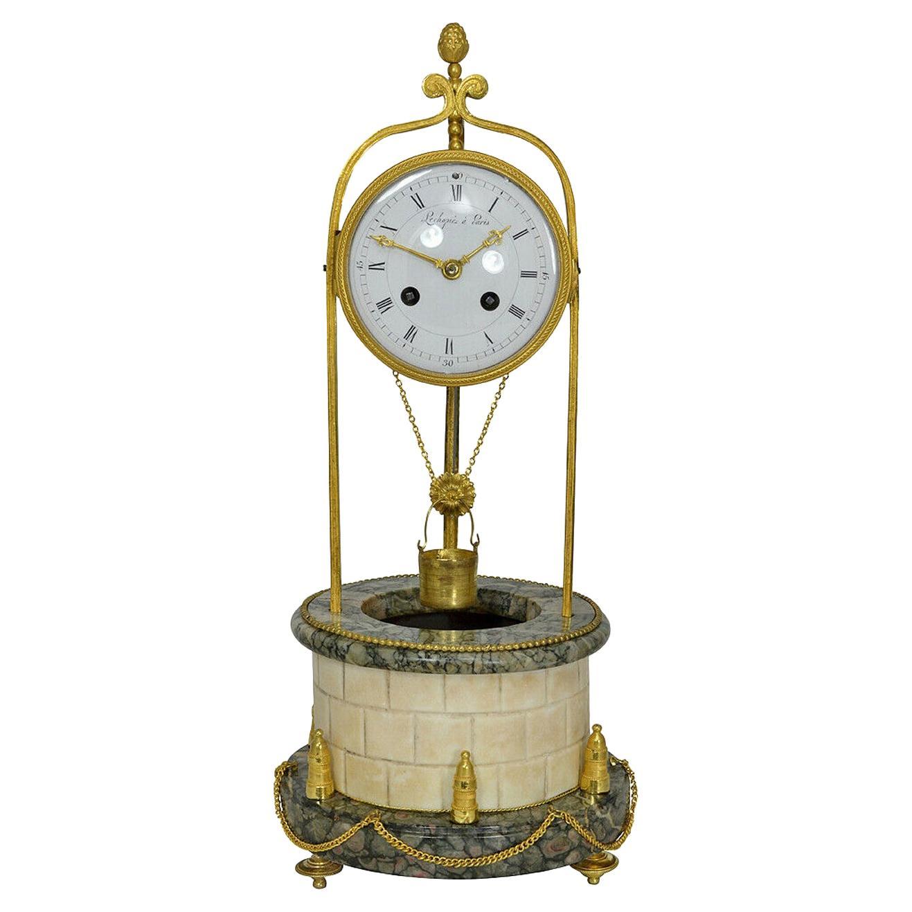 Rare Mid-19th Century Well Clock