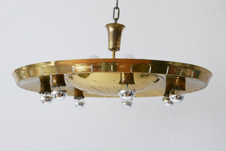 Rare Mid Century Ceiling Light Or Chandelier By G 252 Nter