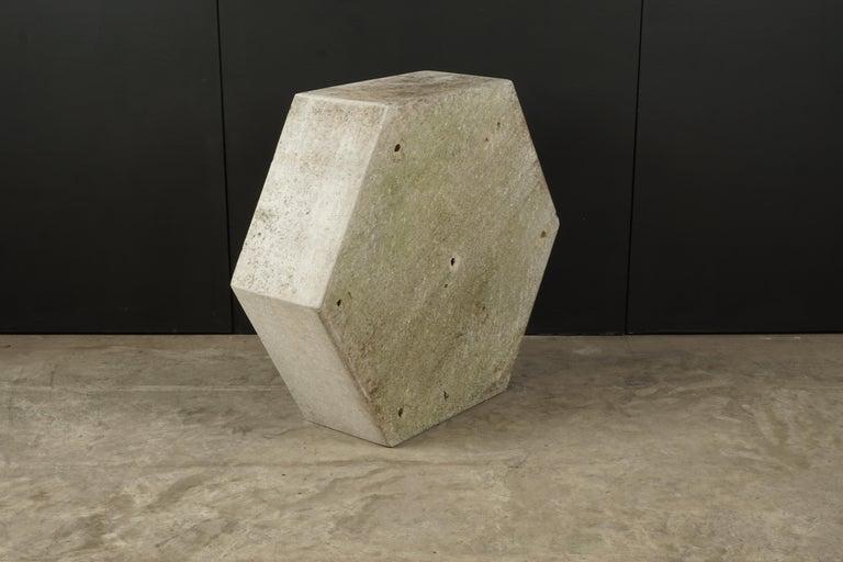 Rare Midcentury Concrete Planter by Willy Guhl, Switzerland, circa 1950 In Good Condition For Sale In Nashville, TN