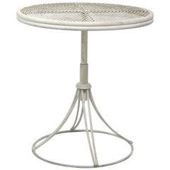 Rare Mid Century Homecrest Adjustable Patio Garden Poolside Table