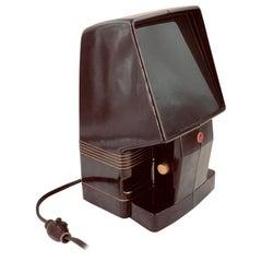 Rare Midcentury Kodak Slide Projector with Bakelite Case