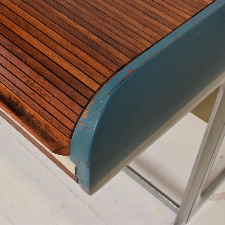 Rare Mid-Century Modern Action Desk by George Nelson Robert Propst Herman Miller For Sale 3