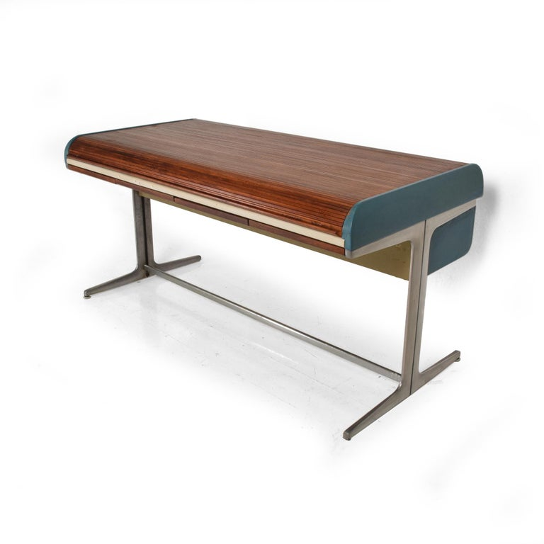 Rare Mid-Century Modern Action Desk by George Nelson Robert Propst Herman Miller For Sale 4