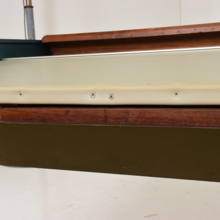 American Rare Mid-Century Modern Action Desk by George Nelson Robert Propst Herman Miller For Sale