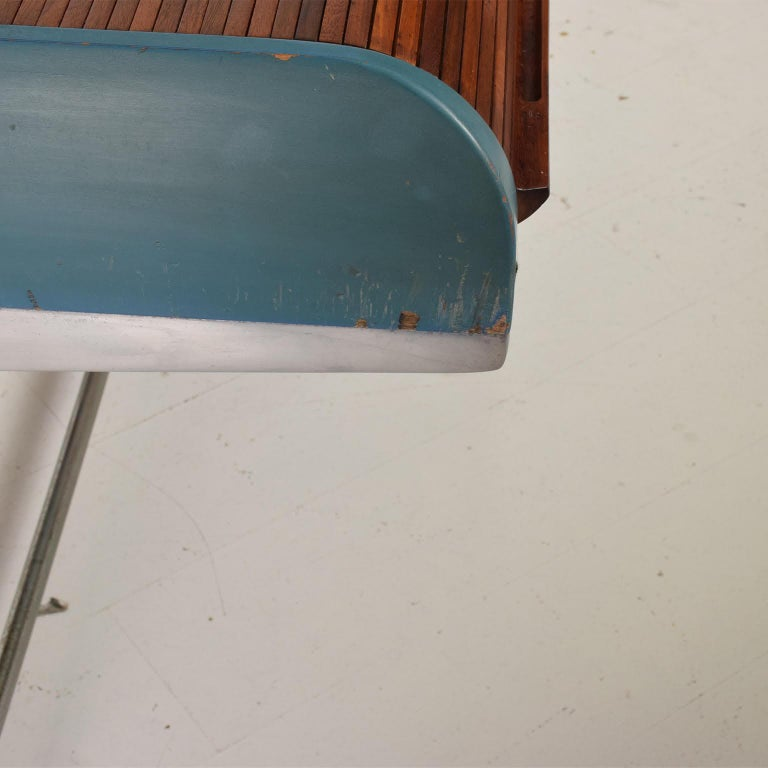 Rare Mid-Century Modern Action Desk by George Nelson Robert Propst Herman Miller In Good Condition For Sale In National City, CA