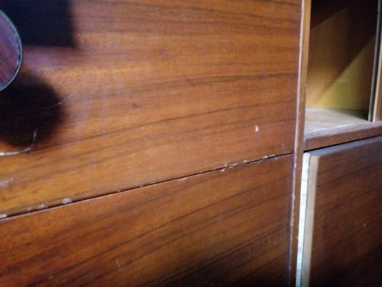 Rare Mid-Century Modern Armoire Dresser by Lane For Sale 6