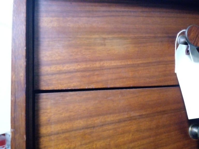 Rare Mid-Century Modern Armoire Dresser by Lane For Sale 7