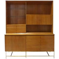 Paul McCobb Calvin Furniture Mid-Century Modern Breakfront, Rare