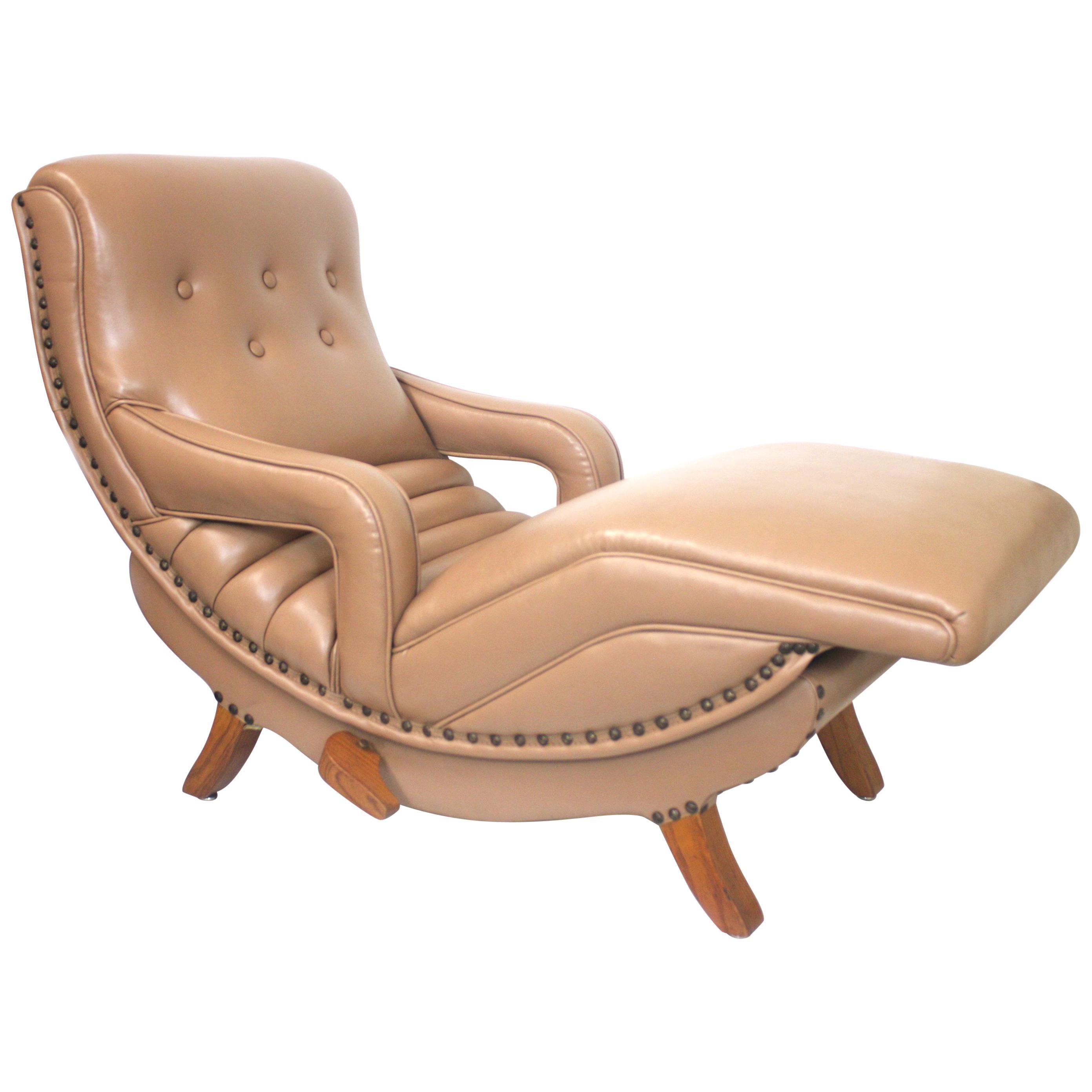 Marvelous Rare Mid Century Modern Child Size Miniature 3 4 Scale Contour Lounge Chair Alphanode Cool Chair Designs And Ideas Alphanodeonline