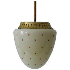 Rare Mid-Century Modern Pendant Lamp, 1950s, Germany