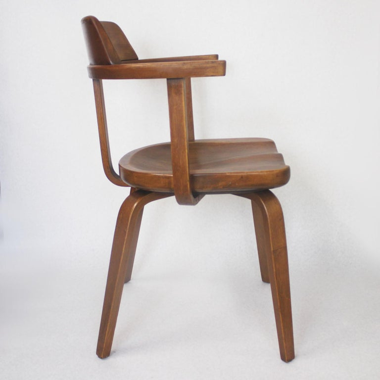 Rare Mid Century Modern W199 Chair Designed By Walter