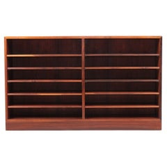 Rare Midcentury Bookcase in Rosewood by Børge Mogensen, 1960s