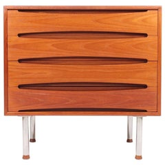 Rare Midcentury Chest of Drawers in Teak by Skovby, 1960s