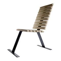 Rare Midcentury Design Rib Chair, 1980s