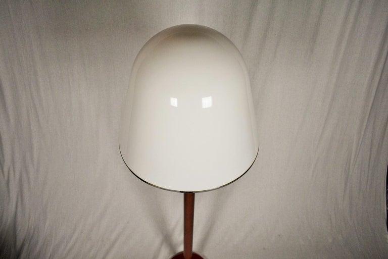 A rare model of Guzzini-Meblo floor lamp 'kuala' produced in the 1970s and early 1980s Design by Franco Bresciani.
