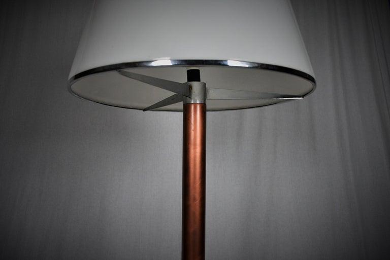 Italian Rare Midcentury Floor Lamp Kuala, Meblo by Franco Bresciani, Italy, 1970s For Sale