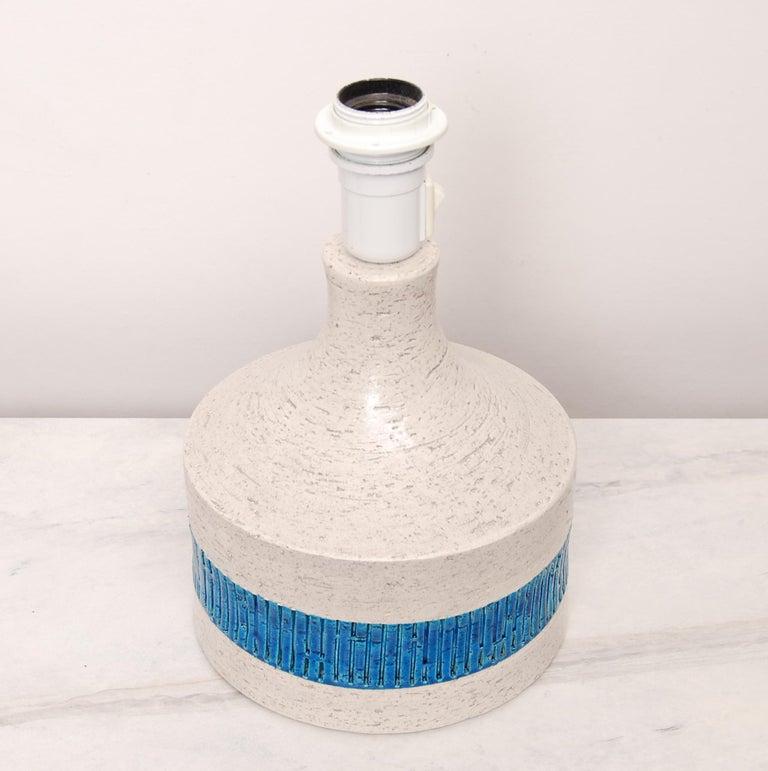 Italian Rare Midcentury Table Lamp by Aldo Londi for Bitossi, 1960s