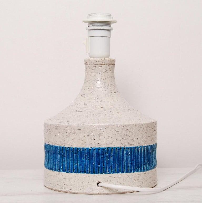 Mid-20th Century Rare Midcentury Table Lamp by Aldo Londi for Bitossi, 1960s