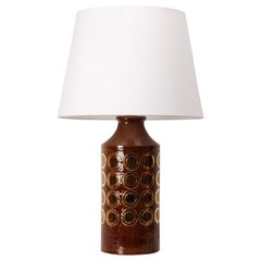 Rare Midcentury Table Lamp by Aldo Londi for Bitossi, 1960s