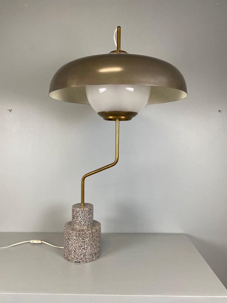 """Rare """"Mikado"""" Table Lamp by Luigi Caccia Dominioni Azucena For Sale 3"""