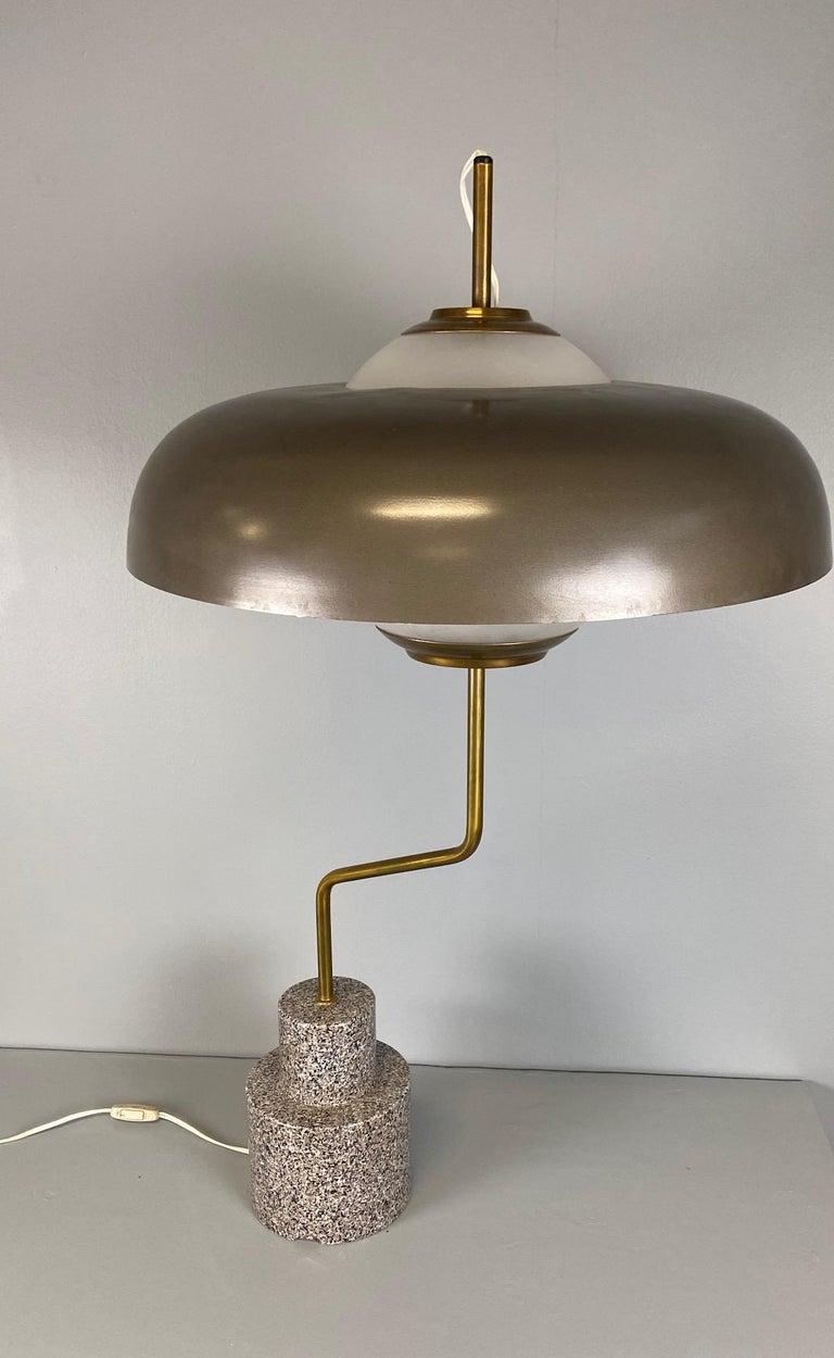 """Rare """"Mikado"""" Table Lamp by Luigi Caccia Dominioni Azucena For Sale 4"""