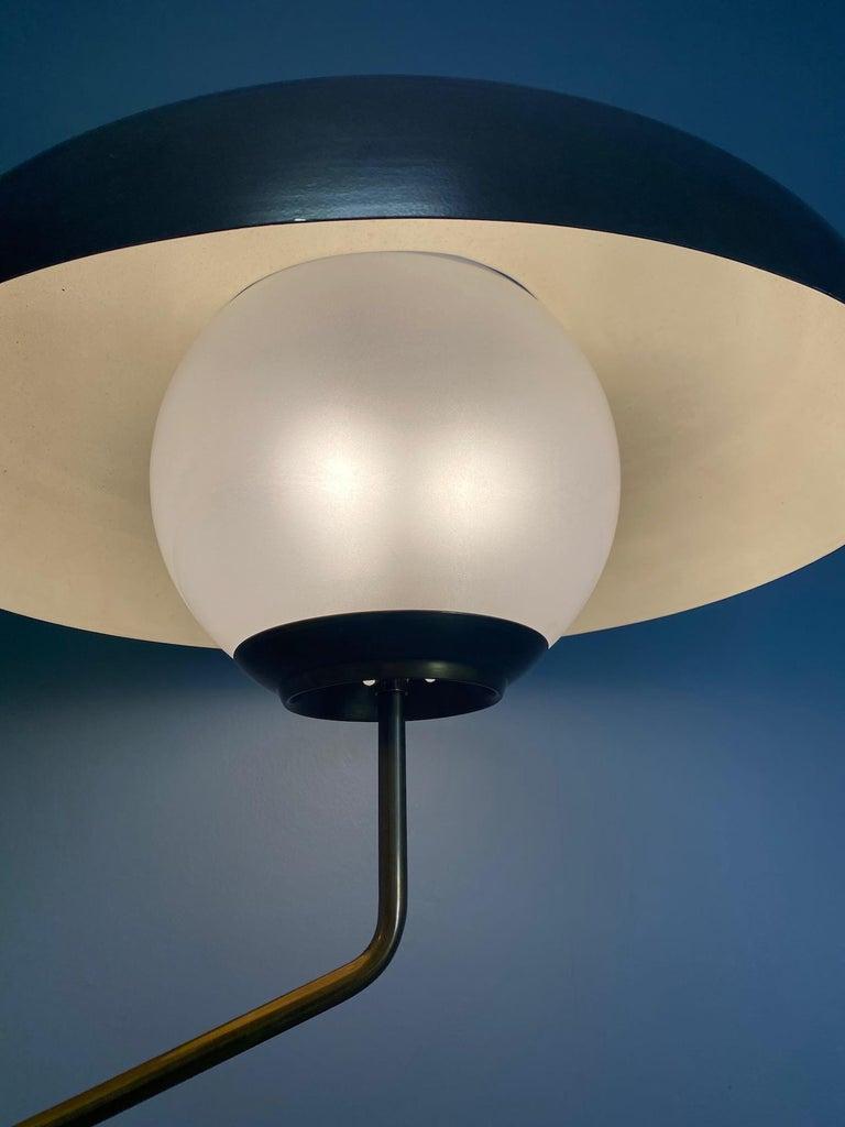 """Mid-Century Modern Rare """"Mikado"""" Table Lamp by Luigi Caccia Dominioni Azucena For Sale"""